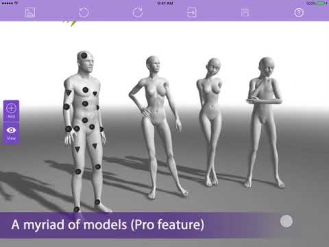 [Magic Poser 2018] App Features Overview