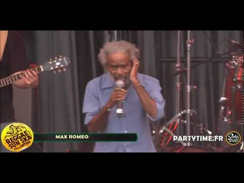 MAX ROMEO - Live HD at Reggae Sun Ska 2012 by Partytime.fr