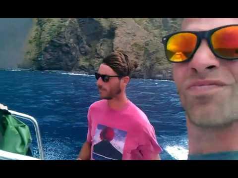 Stromboli, Sicily, Italy living on a Active Volcano