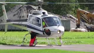 Helicopter Eurocopter AS 350 take off