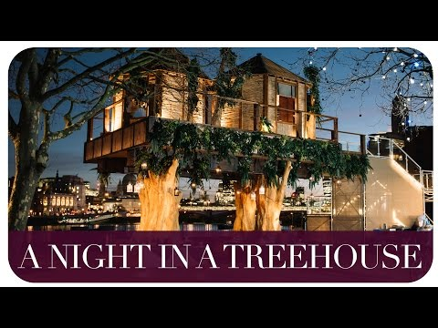 A NIGHT IN A LONDON TREEHOUSE | THE MICHALAKS | AD