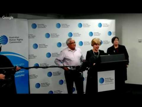 *LIVE* Mick Gooda, Gillian Triggs, Megan Mitchell on Royal Commission in NT Detention of Children