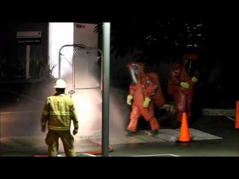 Firefighters Descend On KEMH After Substance Spill July 11 2012