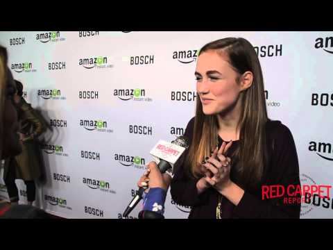 "Madison Lintz at the Premiere of ""Bosch"" #BoschAmazon #AmazonStudios"