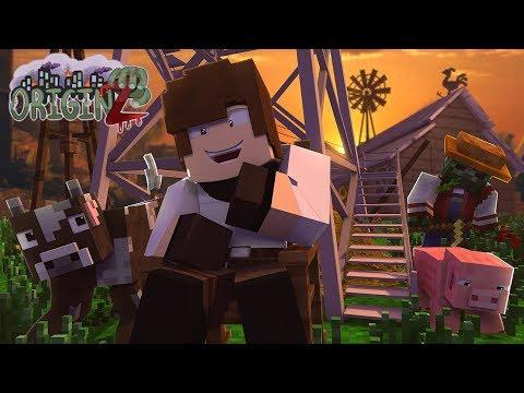 Minecraft OriginZ - 'THE GREAT FARM!' #1 (Crafting Dead Roleplay)