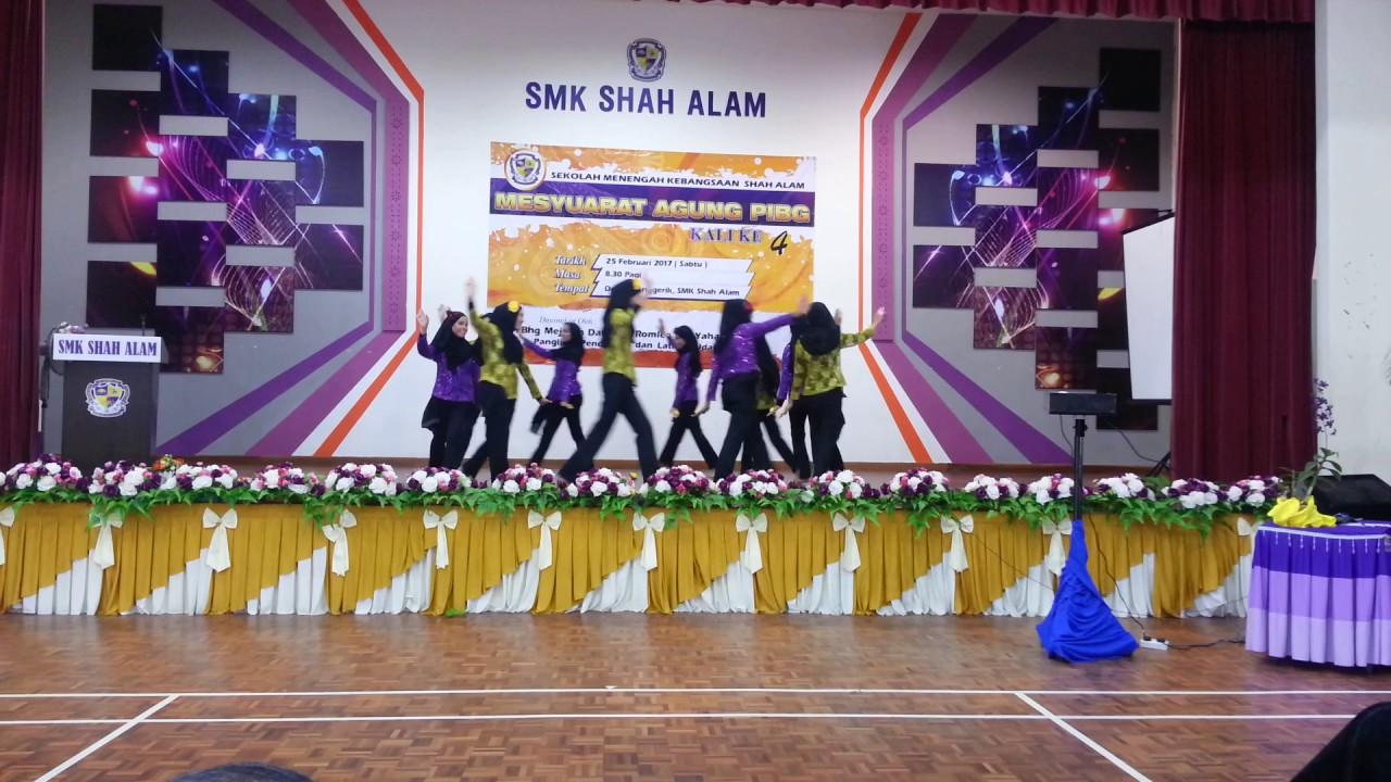 Smk Shah Alam Tari Cendana 2017 Youtube