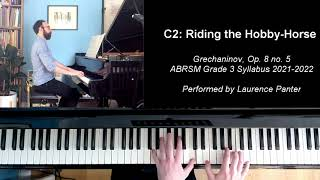 C:2 Riding the hobby horse (ABRSM Grade 3 piano, 2021-2022 syllabus)