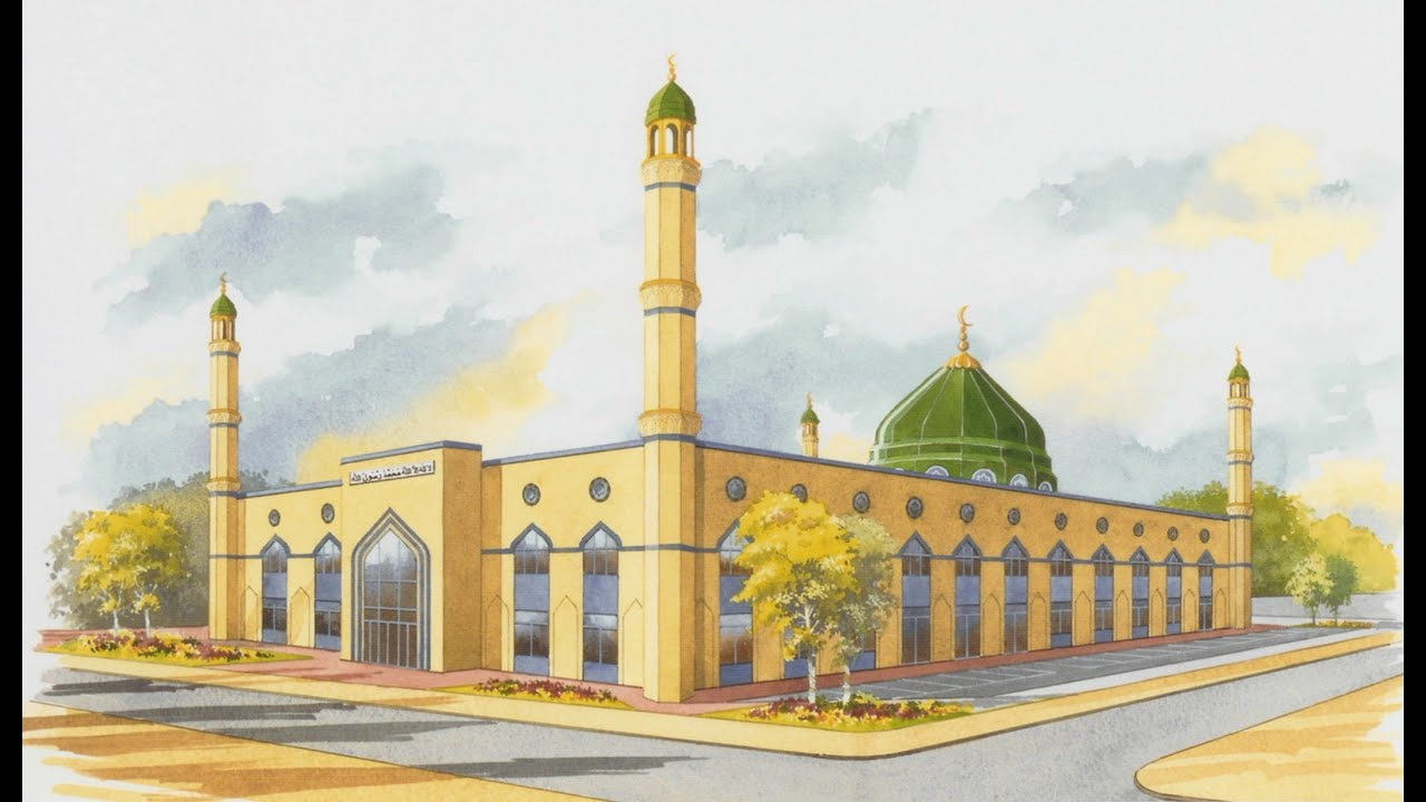 Jamia Mosque Anwar Ul Uloom The Journey Youtube