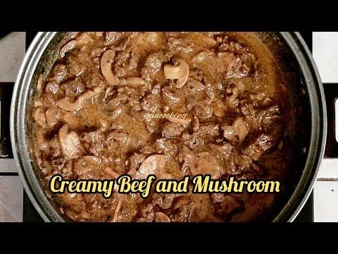 Creamy Beef And Mushroom