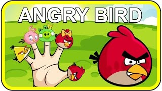 Angry Birds Finger Family Songs | Nursery Rhymes for Children and Kids