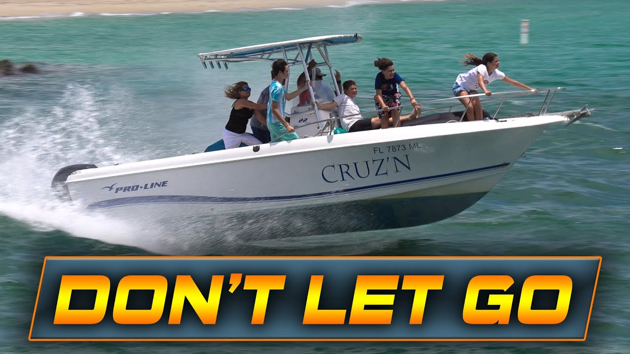 HANG ON OR GO OVERBOARD!! | Boats vs Haulover Inlet