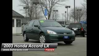 Used Cars   2003 Honda Accord LX   Boulder-Longmont-Denver   Fisher Auto   157371A