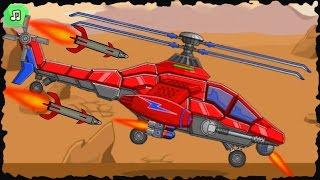 Assemble Robot War Helicopter Vs T-Rex Robot Game Walkthrough (Full Game)