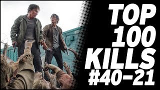 Top 100 Kills & Deaths from The Walking Dead: 40-21