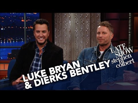 Luke Bryan & Dierks Bentley Share The Secret To Hosting An Awards Show