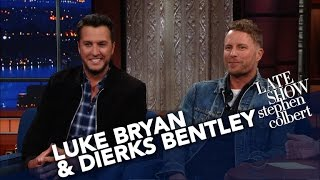 Luke Bryan & Dierks Bentley Share The Secret To Hosting An Awards Show thumbnail