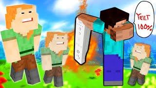 We pretend to be noobs in Minecraft Murder Mystery