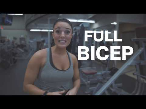BICEP Workout That Will Leave You PUMPED - Ashtyn Pharis Fitness