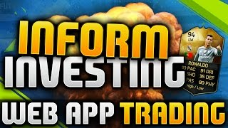 FIFA 16 | INFORM INVESTING - MAKE 100K PER CARD (RARE PLAYERS - WEB APP TRADING)