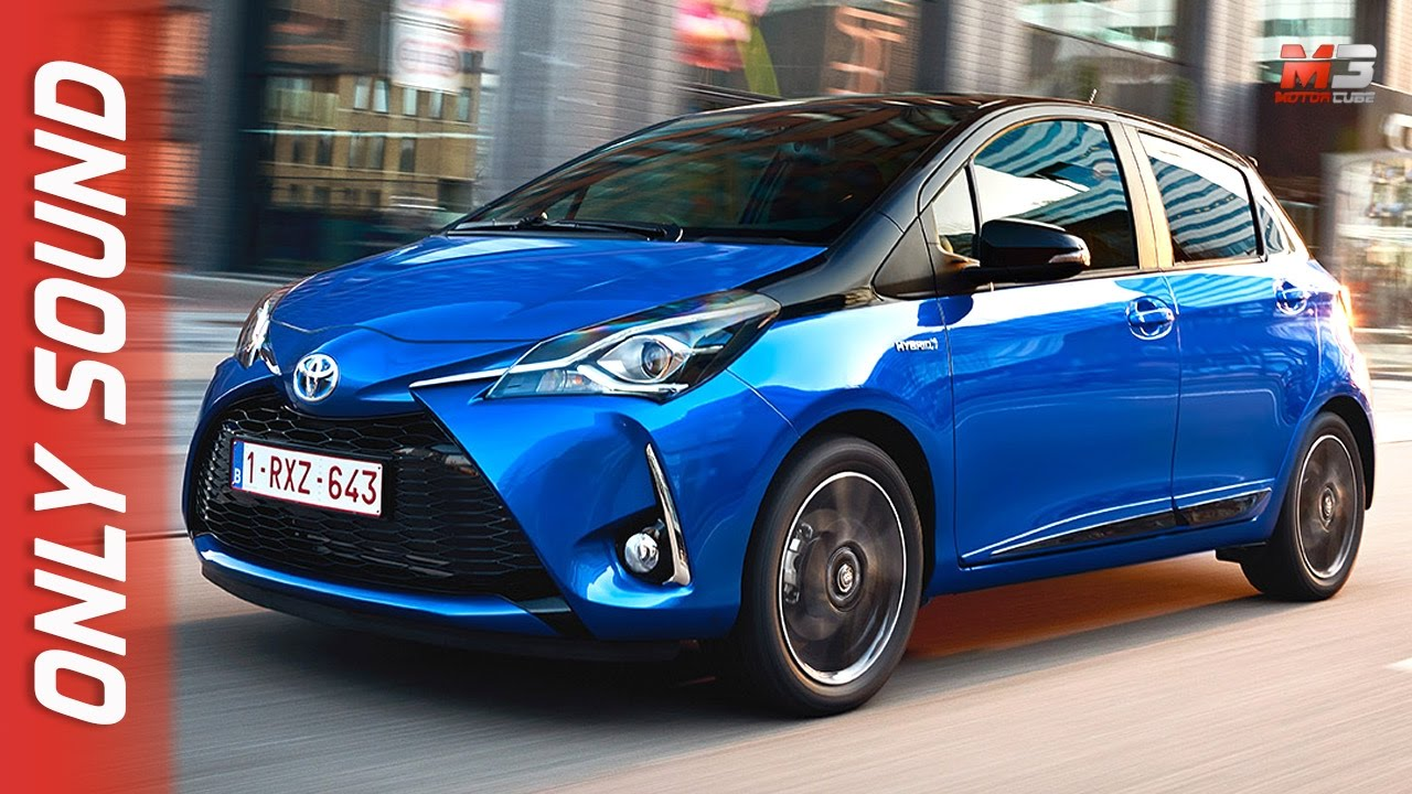 New Toyota Yaris 2017 First Test Drive Only Sound