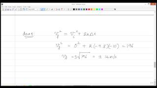 Momentum and Collisions - 03 - Application of Impulse-Momentum Theorem