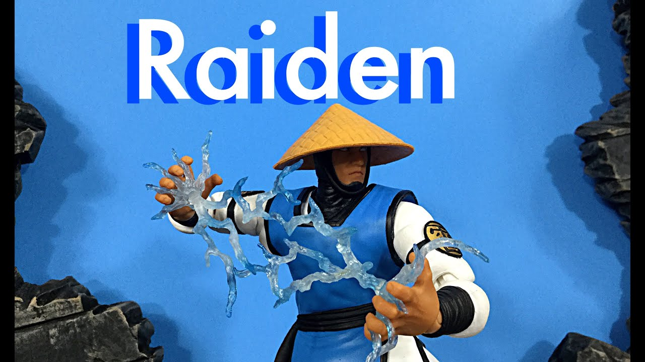 Storm Collectibles Mortal Kombat Classic RAIDEN Action Figure Review