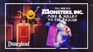 Monsters Inc. Mike & Sulley to the Rescue Full Ride || Nathan Naiker