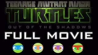 TMNT: Out of the Shadows - FULL MOVIE [HD] XBLA PSN PC (Complete Walkthrough)