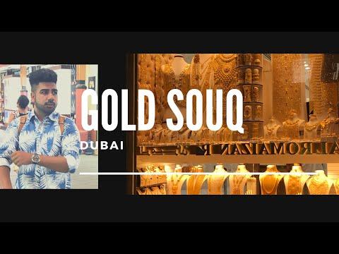 Gold Souq (Market For Gold) In Dubai || Vlog 3 || Trendy Vlogs