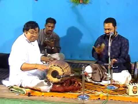Mirudangam Thiruvarur Bakthavaksalam Annai 8th Gurupooja function Jan 2007