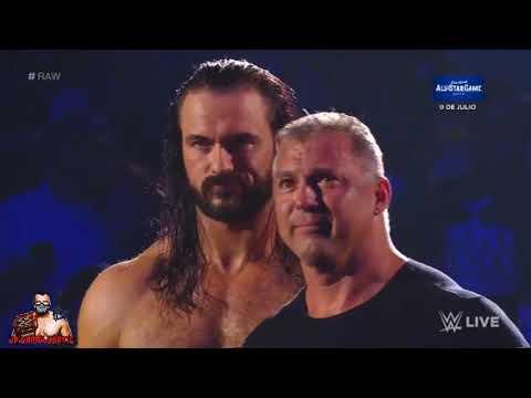 WWE RAW | The Undertaker confronta a Shane McMahon y Drew McIntyre 01/07/19 | Español ᴴᴰ