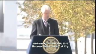 America : Bill Clinton admits Secretary of State Hillary Clinton talks to the Dead (Oct 23, 2012)