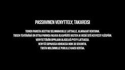 PASSIIVINEN VENYTTELY, TAKAREISI