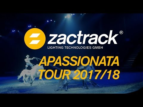 "zactrack - Apassionata Europe Tour ""Companions of Light"" 2017/18"