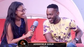 """Simi & I Fought Sometimes"" - Adekunle Gold On The ""Gold"" Album + US Tour 