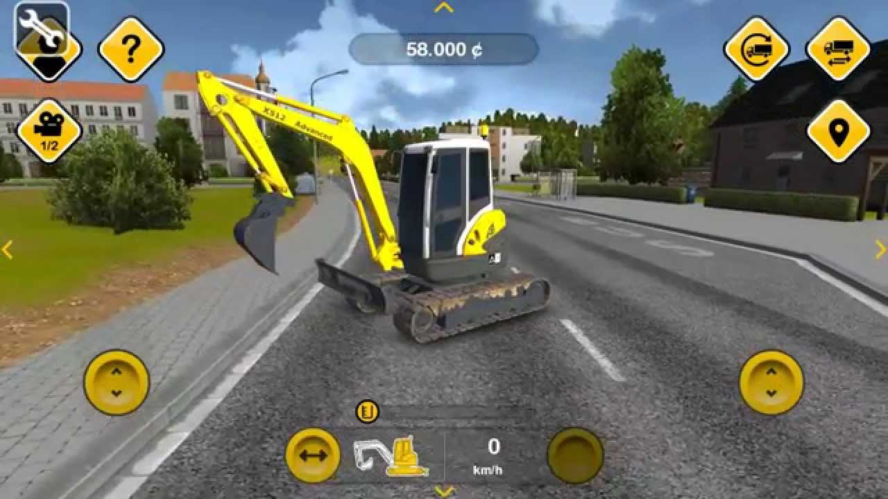 Construction Simulator 2014 Android Unlimited Money Mod Download