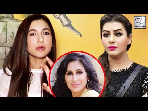 Gauahar Khan LASHES Out At Shilpa Shinde's Behaviour For Mocking Teejay Sidhu | Bigg Boss 12