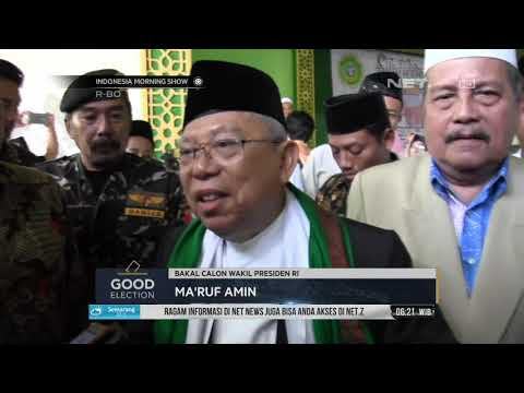 Ma'ruf Amin Mengunjungi Pondok Pesantren Sunan Drajat