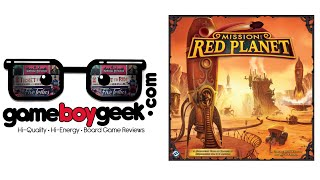 Mission Red Planet Review with the Game Boy Geek