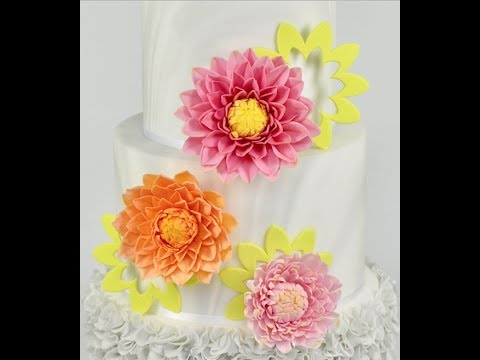 how-to-make-dahlia-and-a-chrysanthemum-flower-cake-decoration-step-by-step-tutorial-sugar-gumpaste
