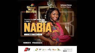 NABIA EXPLAINS WHAT GHANA'S MOST BEAUTIFUL IS ABOUT IN A GRAND STYL...
