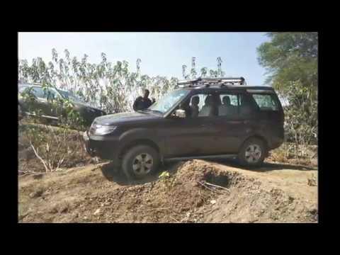 Team-BHP Kolkata Mini-OTR with 3 Thars, a Duster and a Safari Storme