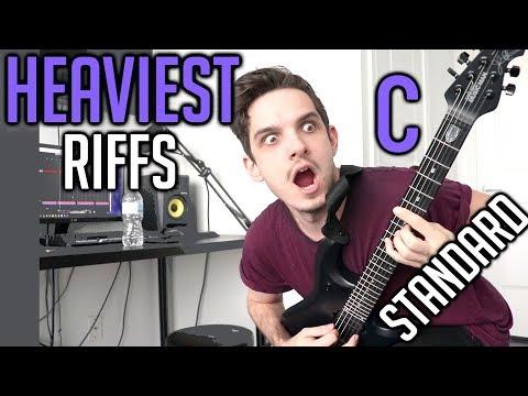 Heaviest Riffs: C Standard