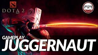 """DOTA 2 - Gameplay JUGGERNAUT comentado - """"Carry Pusher"""" - ESPAÑOL - Viciuslab"""
