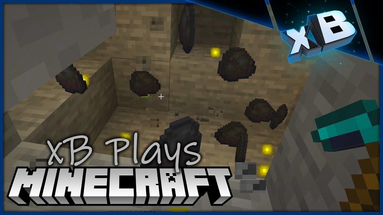 'Vanilla' Vein Miner! :: xB Plays Minecraft 1 14 :: E05