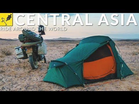 Turkmenistan, Uzbekistan, Tajikistan. Motorbike Around the World - Episode 9
