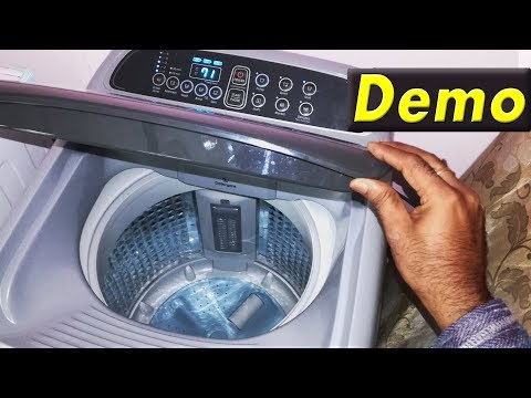 Samsung Top Load Fully Automatic washing Machine Demo| How To Use Samsung Top Load Washer And Dryer