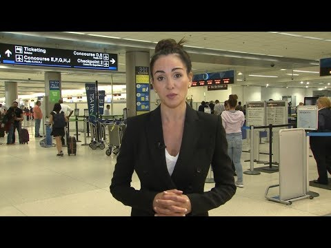 Biometric technology at an airport near you