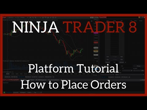 NinjaTrader 8 Tutorial I Best Day Trading Platform for Beginners – Placing Trades, ChartTrader, ATM