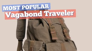 Vagabond Traveler Backpacks For Men // Most Popular 2017